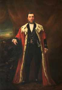 John A Horsburgh - William Lindsay (1819–1884), Provost of Leith (1860–1866)
