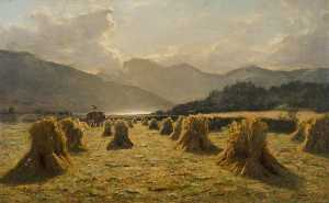 Duncan Cameron - Harvest Time in Lorne