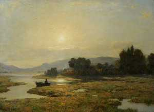 Duncan Cameron - On the Tay near Perth
