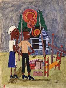 William Henry Johnson - Burned Out
