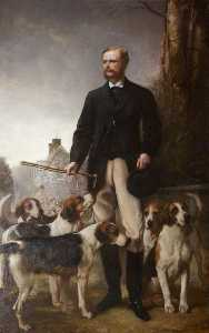 Henry Richard Graves - The Honourable Mark George Kerr Rolle (1835–1907), High Steward (1861–1907)