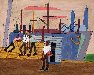 William Henry Johnson - Dockyard