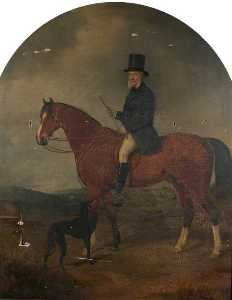 William Watson Ii - Equestrian Portrait