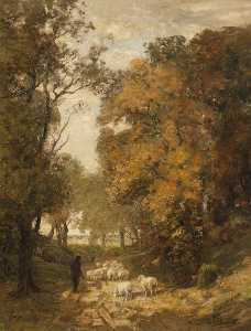 William Mouncey - Autumn in the Woods
