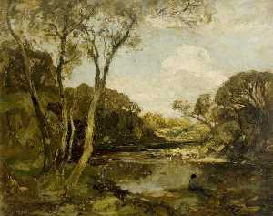 William Mouncey - Pool on the River Dee