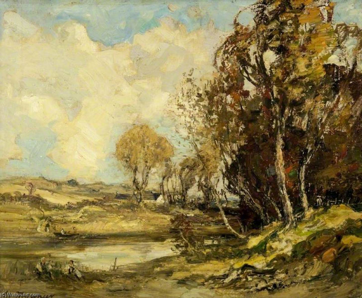 Autumn in Galloway, Oil On Canvas by William Mouncey