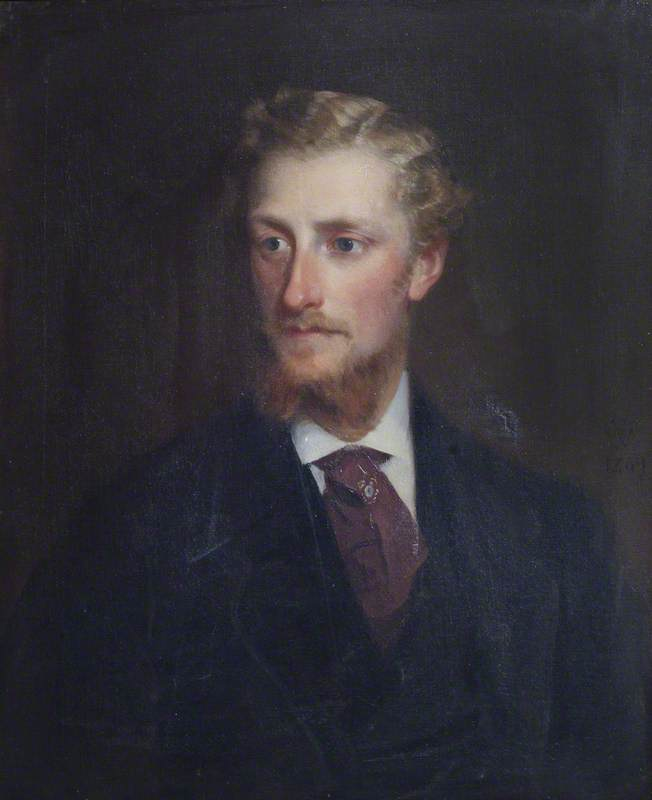 Edmund Langton Massingberd (1841–1876), 1869 by Theodore Blake Wirgman | Famous Paintings Reproductions | WahooArt.com