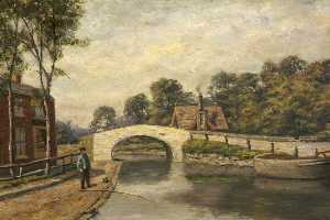 William Worthington Jolley - Monton Bridge