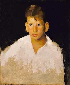 William Henry Johnson - Portrait of a Youth
