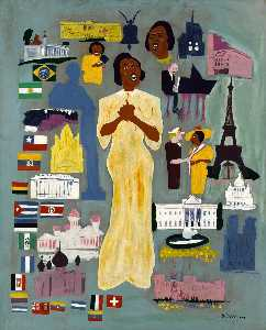 William Henry Johnson - Marian Anderson