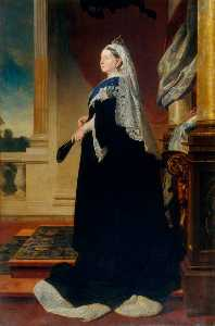 Malcolm Stewart - Queen Victoria (1819–1901) (copy of Heinrich von Angeli)