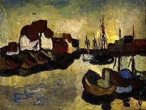 William Henry Johnson - Harbor, Denmark
