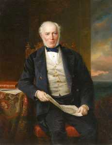 Thomas Alfred Jones - Sir James Hamilton (1815–1882), JP