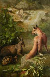 John Bucknell Russell - The Tortoise and the Hare
