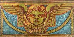 Hugh Hutton Stannus - Part of the Cherub Frieze (cartoon for St Paul's Cathedral)