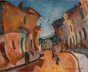 William Henry Johnson - Street in Cassis