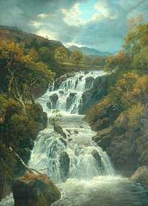 Edmund Marriner Gill - The Waterfall