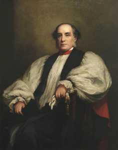 Cyrus Johnson - William Thomson (1819–1890), Provost (1855–1862), Archbishop of York (after Walter William Ouless)