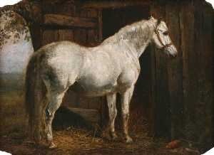 William Edward Millner - White Horse