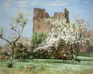 Robert Noble - An Old Castle Orchard, Longniddry