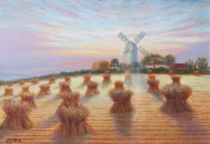 William Richard Bunting - Habrough Mill, Lincolnshire