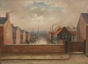 William Richard Bunting - The Old Boundary Mark, Oxford Street and Albert Street, Grimsby, Lincolnshire