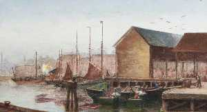 William Richard Bunting - The Stowboat, No.2 Fish Dock, Grimsby, Lincolnshire