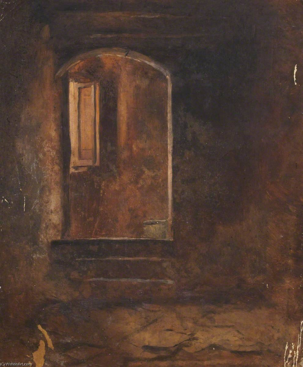 Door and Window, Oil On Canvas by Thomas Stuart Smith