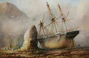 John Taylor Allerston - Silex Bay, Flamborough, East Riding of Yorkshire