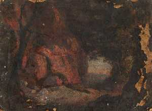 Thomas Stuart Smith - A Rocky Outcrop