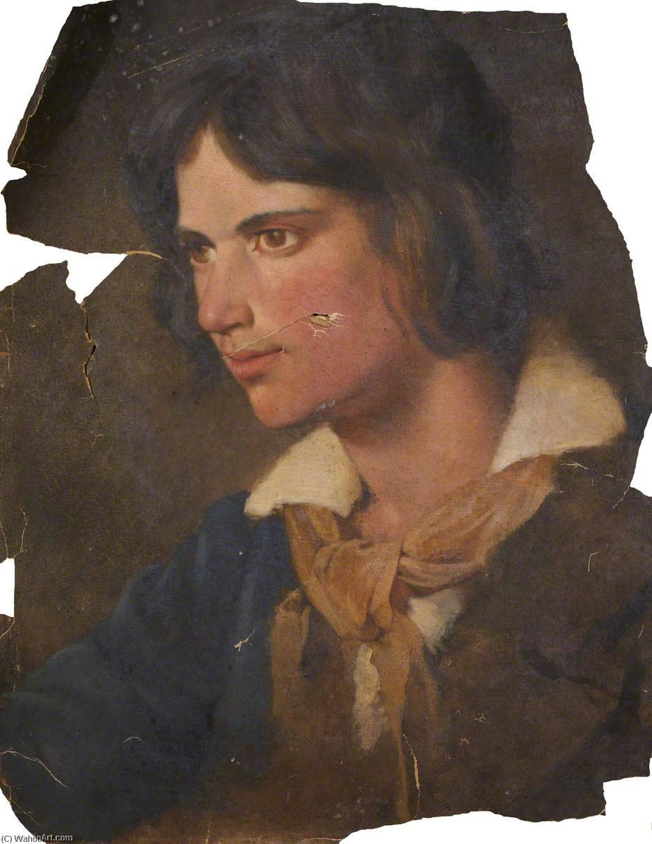 Portrait of a Young Man by Thomas Stuart Smith | Art Reproduction | WahooArt.com