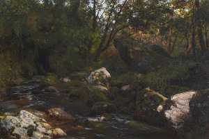 Thomas Stuart Smith - A Derbyshire Brook