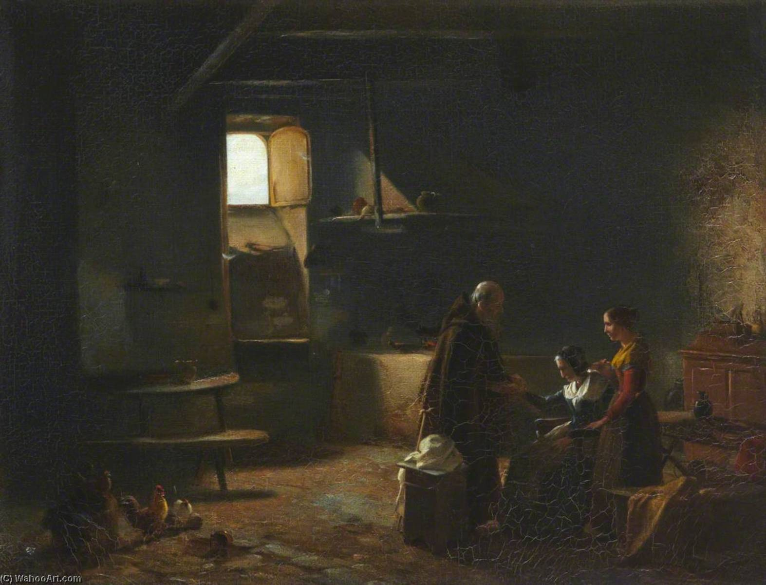 Charity, Oil On Canvas by Thomas Stuart Smith