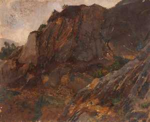 Thomas Stuart Smith - Rocky Hillside