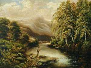 Benjamin Hold - Fishing in the Highlands