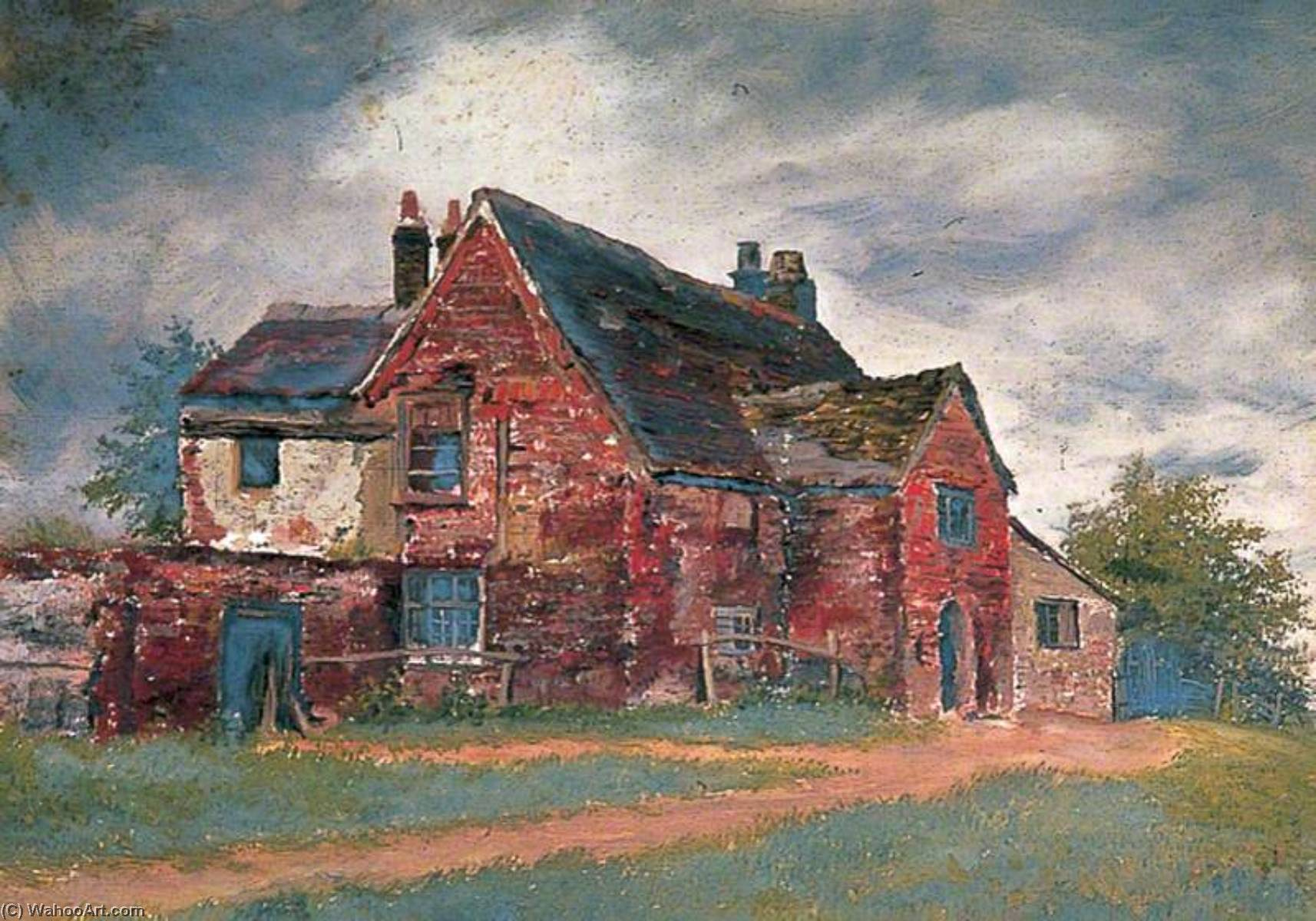 Priory, Infirmary Building, 1900 by Clement T Youens | Art Reproduction | WahooArt.com