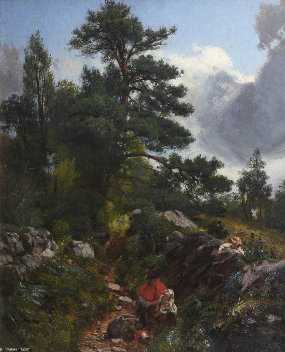 Betws y Coed, North Wales by Thomas Stuart Smith | Oil Painting | WahooArt.com