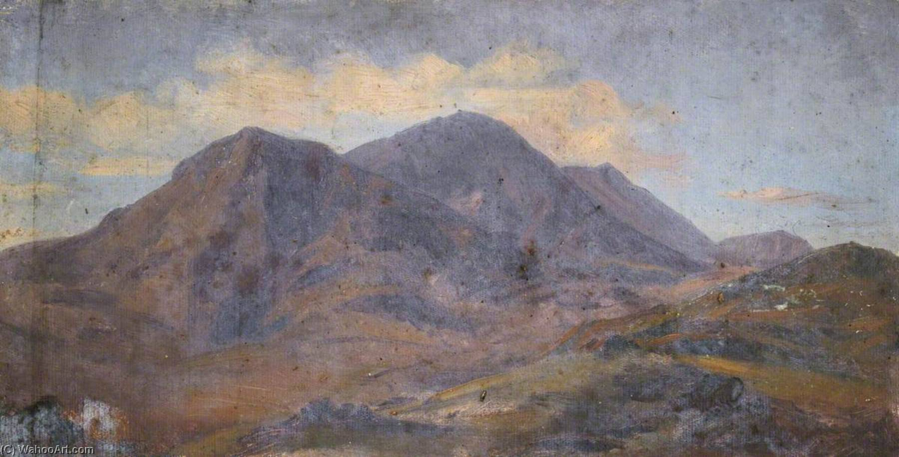 Study of Mountains by Thomas Stuart Smith | Museum Quality Reproductions | WahooArt.com