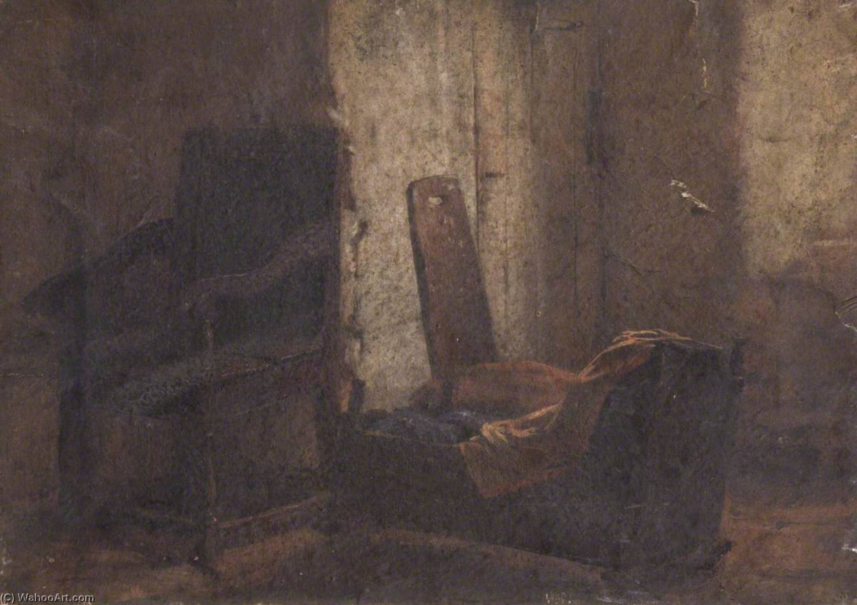 Still Life with a Chair, Oil On Canvas by Thomas Stuart Smith