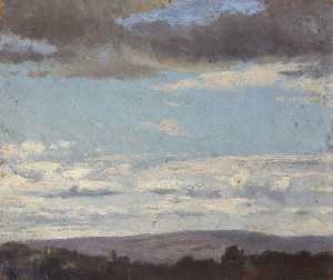 Thomas Stuart Smith - Landscape with Clouds