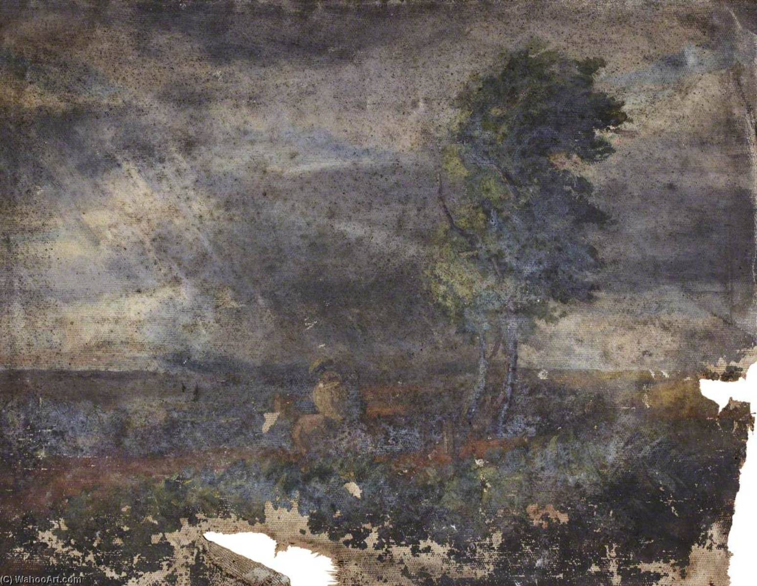 Trees in a Landscape by Thomas Stuart Smith | WahooArt.com
