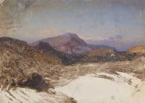 Thomas Stuart Smith - Study for a Mountain Landscape