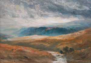 Thomas Hope Mclachlan - Landscape of Upper Teesdale