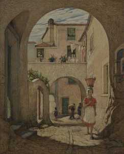 Helen Lavinia Cochrane - The Village Street