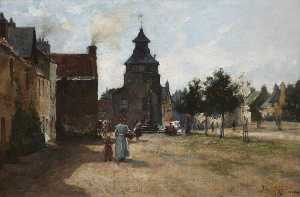 Joseph Milne - Town Hall and Marketgate, Crail