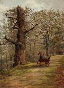 George Sweet - The Watch Tree, Cadzow Forest