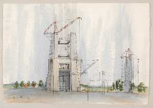 Theodore Hancock - Saturn v Booster Test Stand