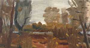 Ivon Hitchens - Damp Autumn