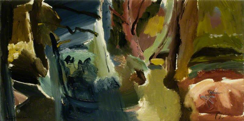 Boundary Stream by Ivon Hitchens | Painting Copy | WahooArt.com