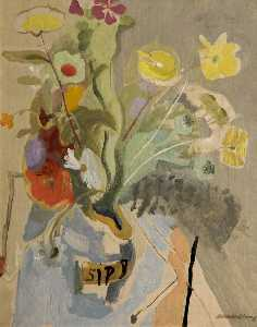 Ivon Hitchens - Spring Flowers